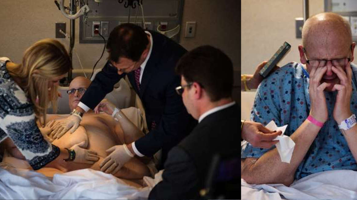 Former 980-Pound Man Adjusts After a Difficult Skin Operation